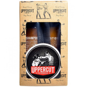 Uppercut Deluxe Men's Essential Kit With Featherweight Pomade