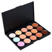 Kissemoji 15 Colours Cosmetics Cream Contour Palette Valentine's Day Gift Ideas