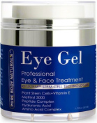 Eye Cream for Dark Circles and Puffiness - The most Effective Eye Gel for every eye concern - All Natural - 50ml