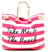 VICTORIA's Secret PINK Beach Time Tote Bag .