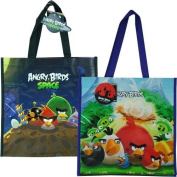 "Angry Birds with Space Non Woven Tote Bag 2 Assorted 13.5x 14"" x 14cm"