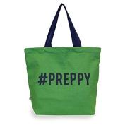 #preppy canvas tote bag.