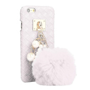 iPhone 6 plus/6S plus 14cm Case DZT1968® Fashion Hairy Hairball Weave Hard Case Cover for iPhone 6 plus/6S plus 14cm