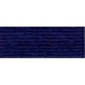DMC Pearl Cotton Balls, Size 8, Dark Navy Blue