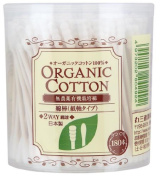 Cotton Labo Organic Cotton Swabs 180pc