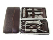 Imixlot Women's and Men's Manicure Set 12pcs in 1 Nail Clipper Earpick Grooming Pedicure Kit For Man Woman