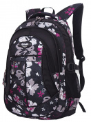 SellerFun® Kid Child Girl Flower Printed Waterproof Backpack School Bag