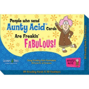 Aunty Acid Greeting Cards Hilarious Birthday Anniversary Get Well Assortment