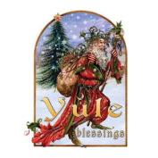 (Price/pack)Briar Yule Herne Midwinter Card