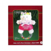 Carlton Cards Baby Girl's First Christmas 2000 #CXOR-020C