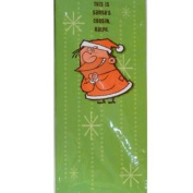 American Greetings Funny Santa's Cousin Ralph Christmas Cards
