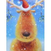 Paper Images Reindeer Santa Christmas Cards
