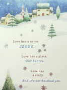 Dayspring Names of Jesus Christian Christmas Cards with Bible Verse