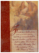 Trimmerry Unto Us A Child is Born Christian Christmas Cards with Bible Verse