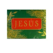Dayspring Green Jesus Christian Christmas Cards with Bible Verse 2 Corintians