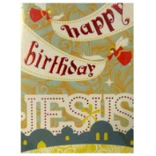 Trimmerry Happy Birthday Jesus Christian Christmas Cards
