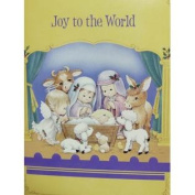 Trimmerry Child Nativity Scene Christian Christmas Cards Joy to the World