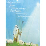 Dayspring Blue Love Has A Name Jesus Christian Christmas Cards
