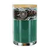 Soy Candle 350ml Tumbler A Comforting Blend Of Pine & Evergreen Oils Burns Approximately 30+ Hours