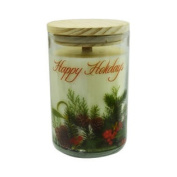 Soy Candle 350ml Tumbler A Festive Blend Of Bayberry, Pine & Peppermint Burns Approximately 30+ Hours