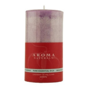 Serenity Aromatherapy One 7cm X 13cm Pillar Aromatherapy Candle Burns Approximately 75 Hrs