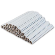White Carpenter Pencils - 72 Count Bulk Box