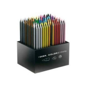 LYRA Colorstripe Coloured Pencil Set with Wooden Display Case, Assorted Colours, 144 Pencils