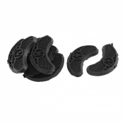 5 Pairs Rubber Anti-Slide Shoe Repair Pads Sole Grip Protector Black