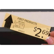 Slip Strip 361506 Label Holder, 2.5cm - 1.3cm x 90cm , Clear strip