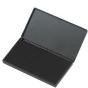 Foam Ink Pad, 5.1cm - 1.9cm x 10cm - 0.6cm , Nontoxic, Reinkable, Black - LEO92225