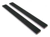 Standard Black 80/80 (Lav Ctr) Square End Nail File 50 Pack