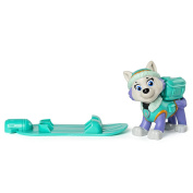 Paw Patrol Winter Rescues Action Pack Pup, Snowboard Everest