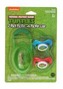 Nickelodeon Ninja Turtles Pacifier with Case, 2 Pack