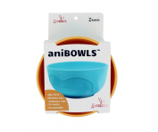 JJ Rabbit aniBOWL, Penguin/Sea Life/Orange Peel, 2 Count