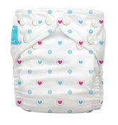 Charlie Banana 2-in-1 Reusable Nappies, Lovely Blue