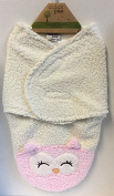 Chick Pea Swaddle Blanket-Pink Owl