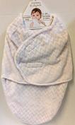 Blankets & Beyond Swaddle Bag Pink & Grey Chevron