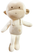 (Baby Monkey)100% Organic Cotton Baby First Doll 28cm