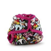tokidoki x Kanga Care Newborn Nappy Cover- Snap- tokiJoy/Sherbert