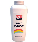 Baby Powder Baby Days 410ml, Case of 12