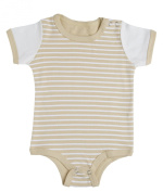 100% Organic Cotton Baby Bodysuit (Onesie)