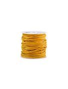 FreshHear 10m Leather Cord Colour Buttercup Yellow Size 1.5x1.5mm