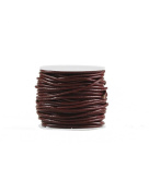 FreshHear 10m Leather Cord Colour Seal Brown Size 2x2mm