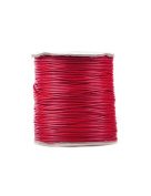FreshHear Pack of 1 for 170m Korea Waxed Cotton Cord Colour Crimson Red Size 1.5x1.5mm