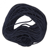 Waxed Cotton Cord Bayberry Purple 1mm Made in USA