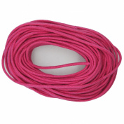 Waxed Cotton Cord Raspberry Pink 2mm Made in USA
