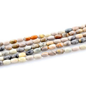 HLDIY 1Strand Picasso Stone Buffing Beads Jewellery Making Accessories