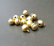 8 MM Metal Brass Bell Jewellery Making 20 pcs.