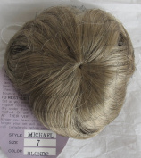 PLAYHOUSE Craft DOLL HAIR WIG Style MICHAEL Fits Size 18cm BLONDE Colour Synthetic Fibre