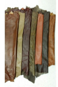 Western Leather HIDES Lambskin - WHOLE SHEEP SKIN 6 to 9 SF - Various Colours